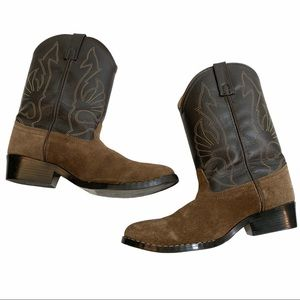 Masterson boot Company brown cowboy boots